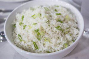 Coconut Rice Dish