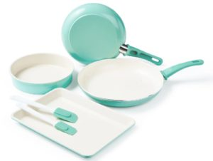 Greenlife 6-piece Cookware and Bakeware Set