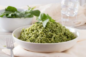 Pesto Green Rice