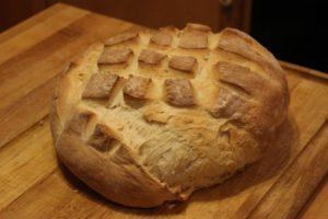4-Ingredient Artisan Bread