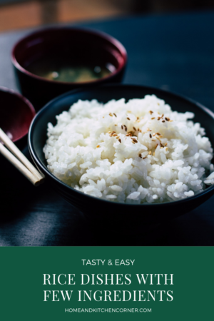 Easy Rice Dishes With Few Ingredients