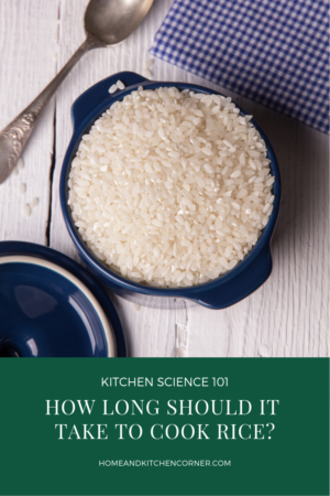 How Long Does It Take to Cook Rice