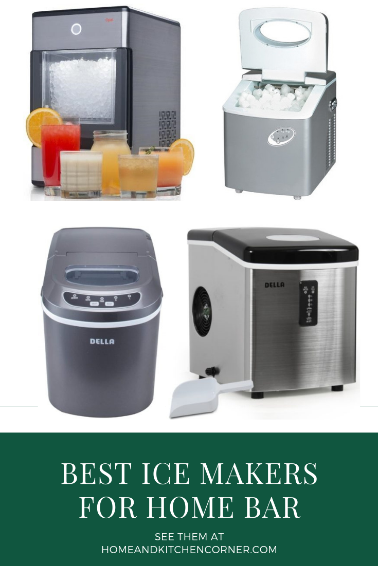 Best Ice Maker For Home Bar 2020 Get Chewable Fasting Freezing Ice