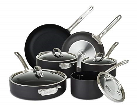 Viking 40051-9910 Hard Anodized Nonstick Cookware Set
