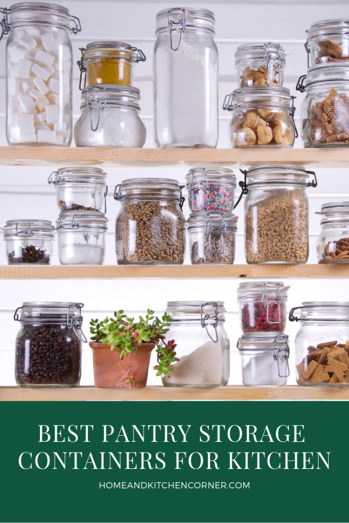 BEST PANTRY STORAGE CONTAINERS
