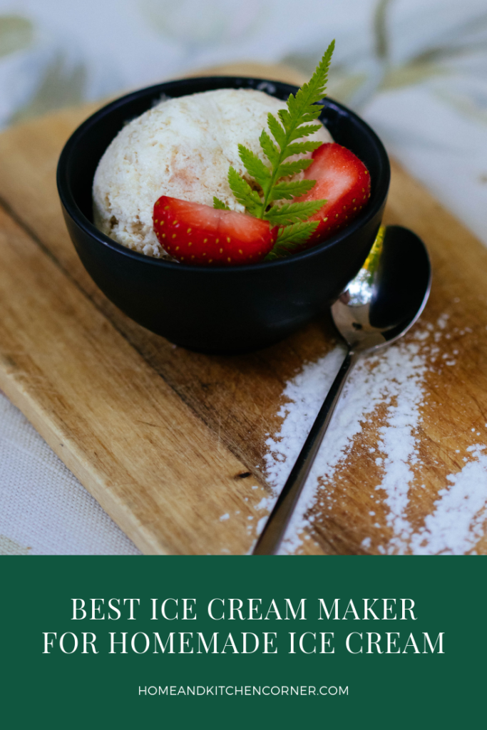 Best at Home Ice Cream Maker