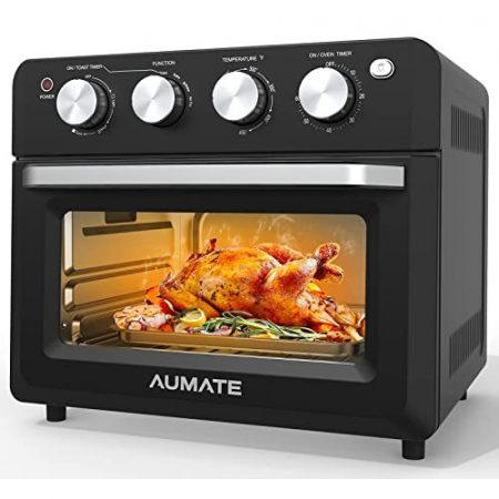 AUMATE Air Fryer Oven, Air Fryer Toaster Oven Combo