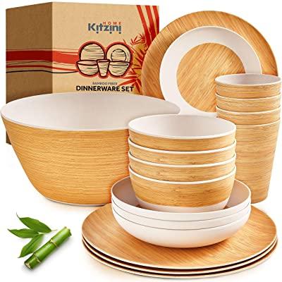 Bamboo Dinnerware Sets