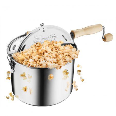 Great Northern 6-1/2-Quart Stovetop Popcorn Popper