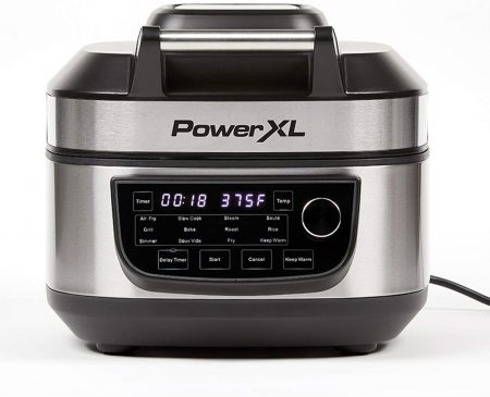 PowerXL Grill Air Fryer Combo Deluxe 6