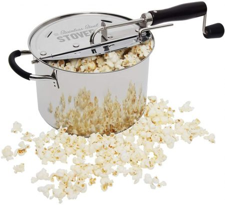 Time for Treats StovePop Stove-Top Popcorn Popper