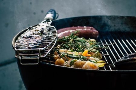 Direct, indirect, and modified charcoal grilling